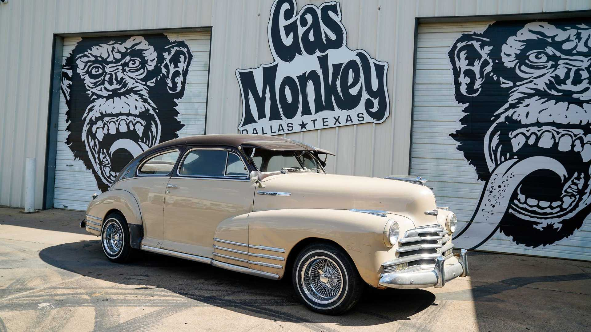 "[""At Under $13K, Is This 1947 Chevy Fleetline Fastback Aerosedan Coupe A Steal?""]"