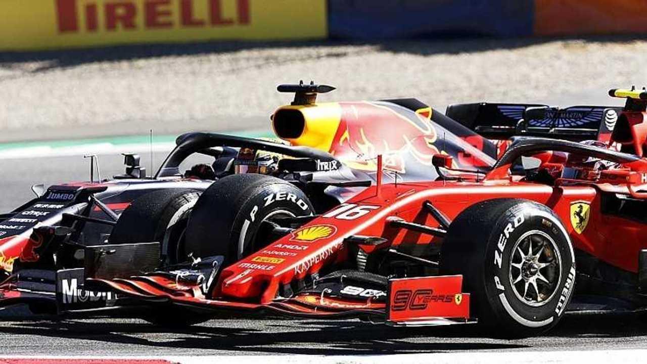 Verstappen y Leclerc, F1 2019