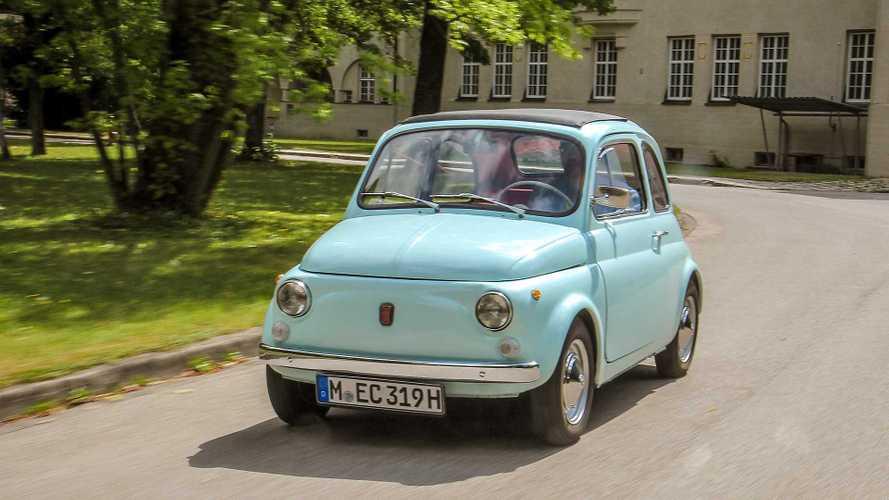 Zeitreise: Unterwegs im alten Fiat 500