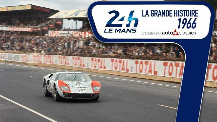 Retour en vidéo sur l'édition 1966 des 24H du Mans
