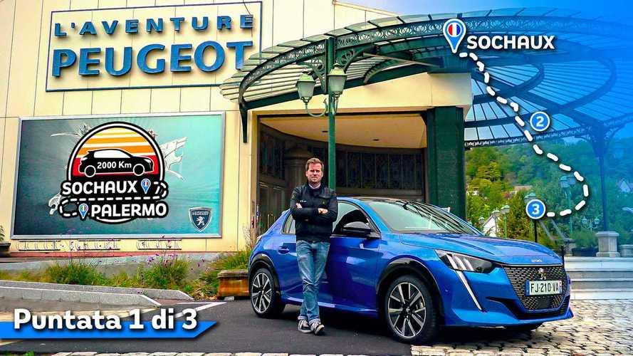 2.000 km con la nuova Peugeot 208, da Sochaux a Roma