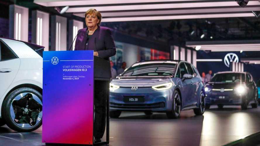 VW ID.3: Produktionsstart in Zwickau mit Bundeskanzlerin Merkel