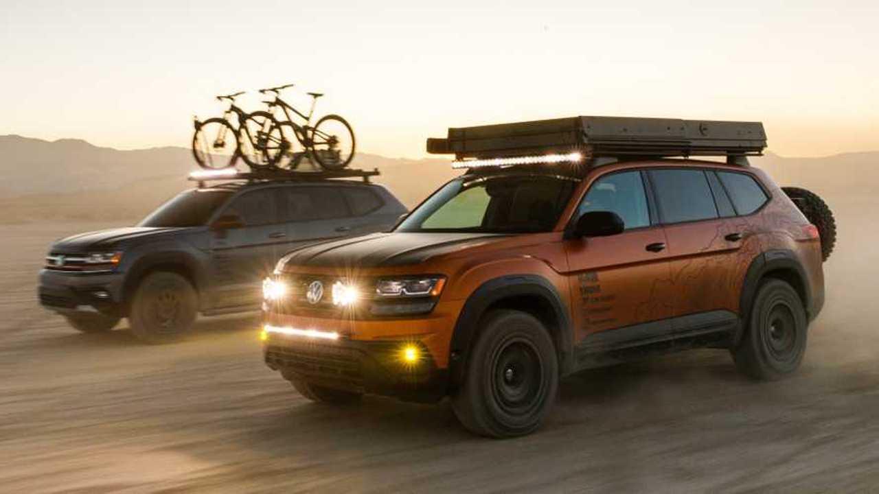 Volkswagen Atlas Basecamp And Atlas Adventure Concepts