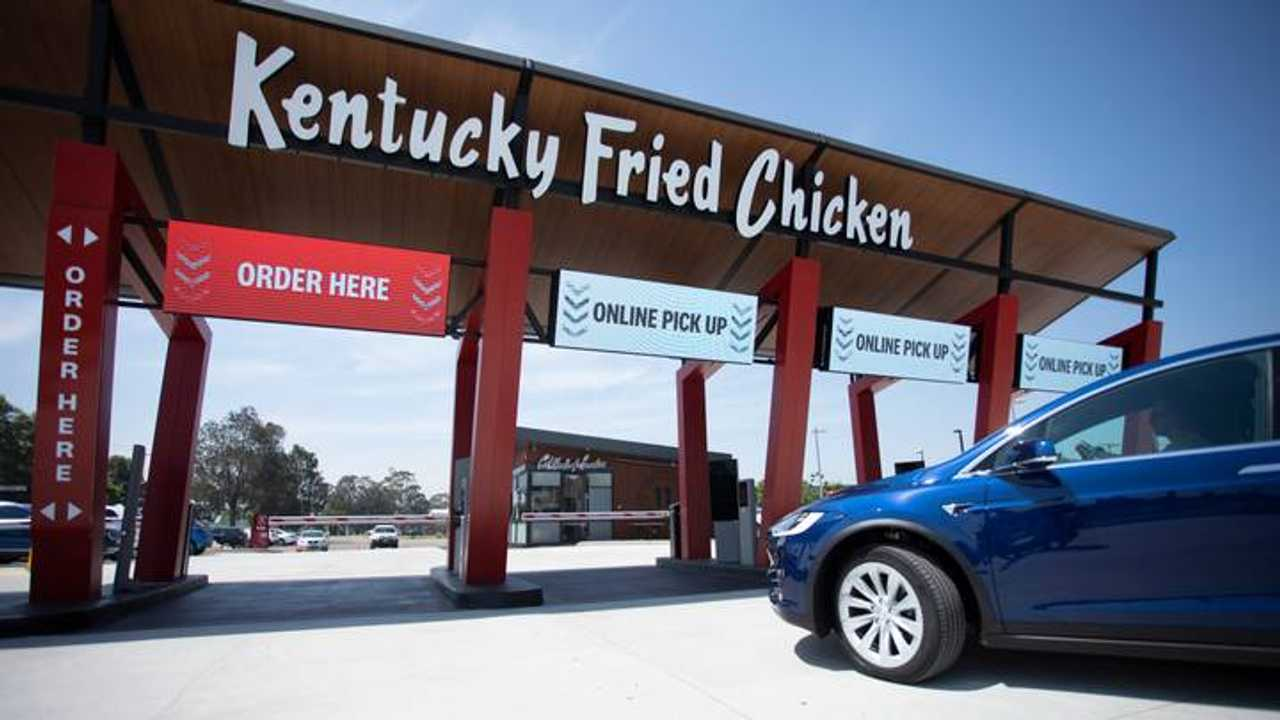 KFC Opens Drive Thru-Only Restaurant In Australia