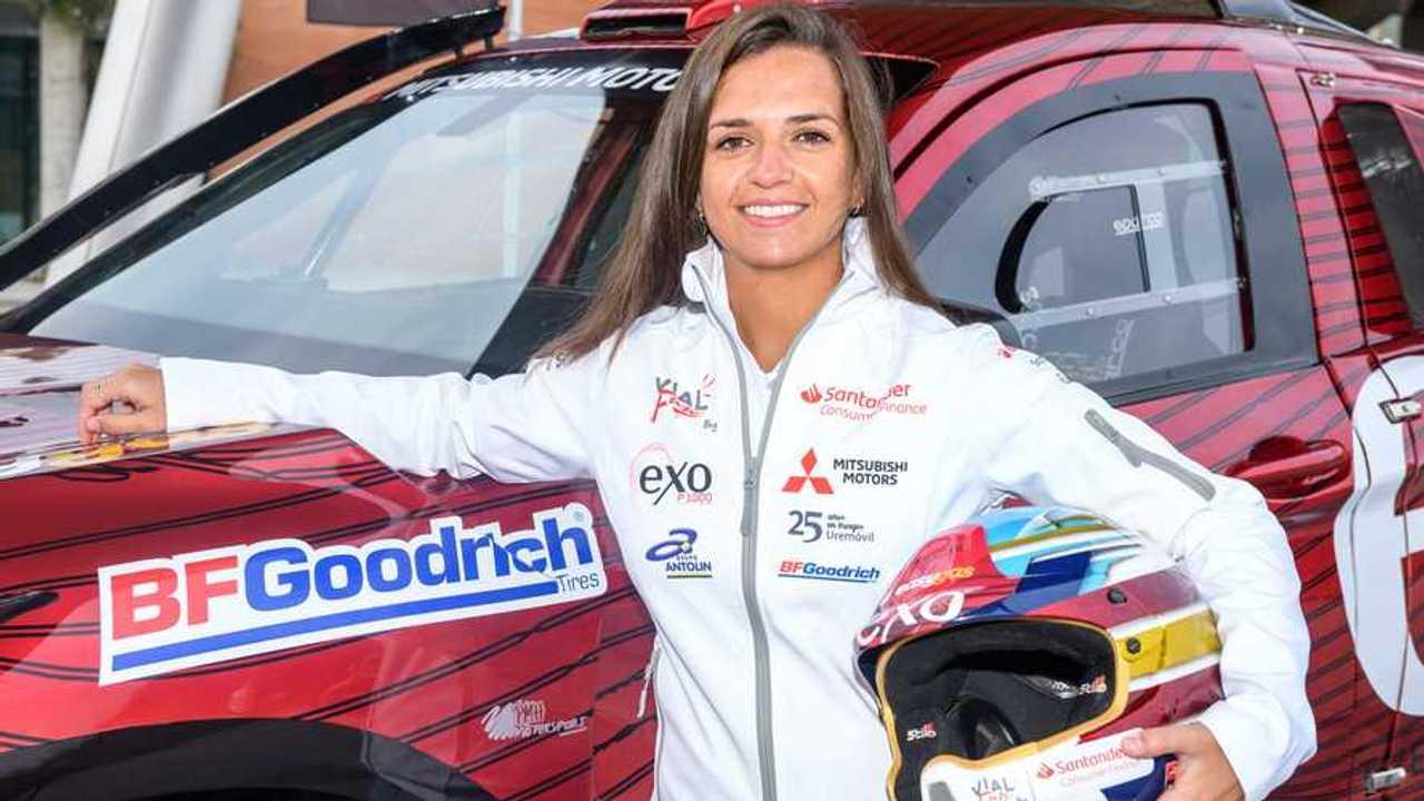 Cristina Gutiérrez y el Mitsubishi Eclipse Cross: Dakar 2020