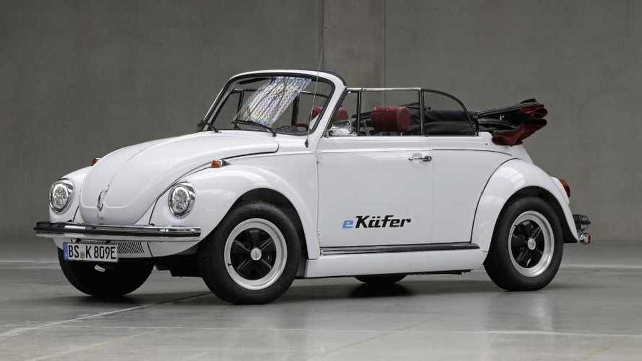 Une VW Coccinelle convertie à l'électrique