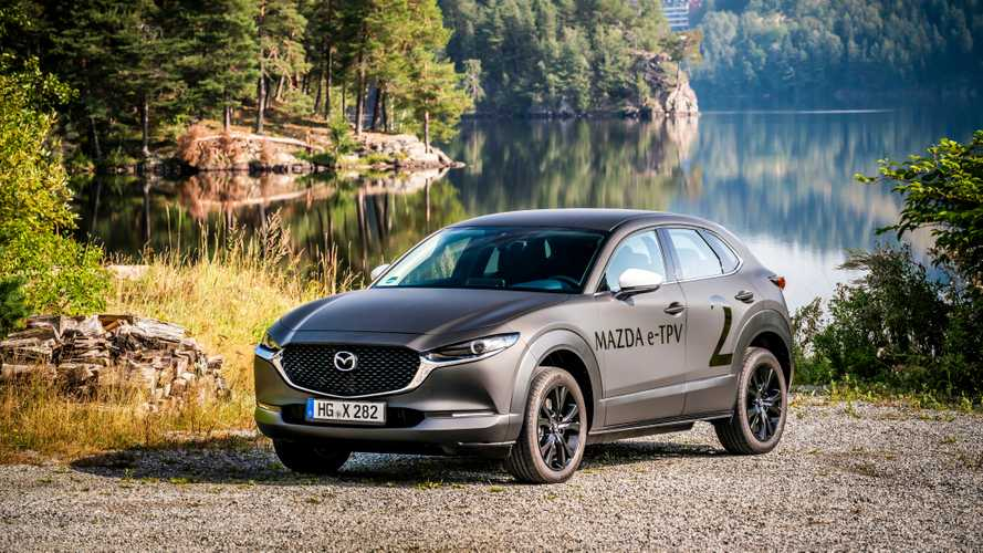 Mazda's First Electric Car Does Not Believe In Large Batteries