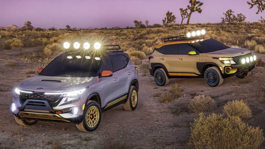 Kia Seltos off-road concepts revealed in Los Angeles