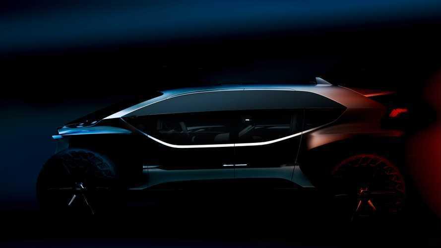 Audi AI:Trail quattro, prototipo elettrico per l'offroad