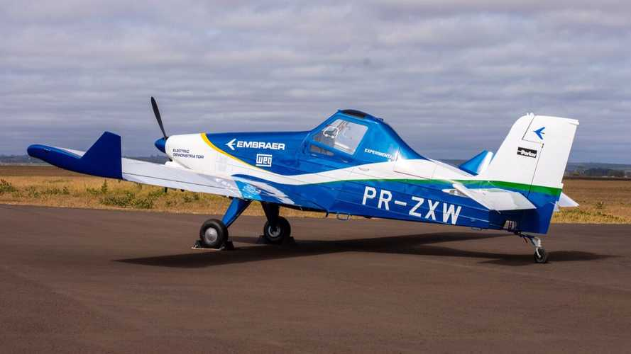 Embraer Announces First Flight Of Prototype EV Aircraft In 2020