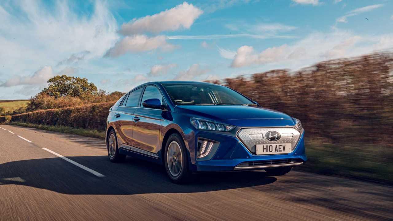 Hyundai IONIQ Electric in UK