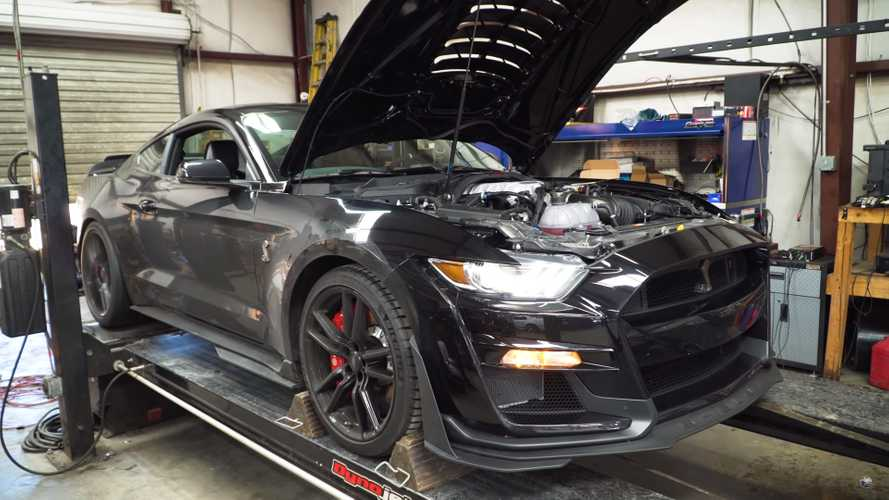 2020 Shelby GT500 Dyno Test Shows 705 HP At The Wheels