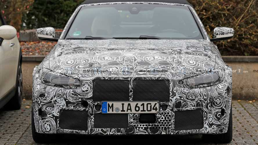 2021 BMW M4 Convertible Spy Photos
