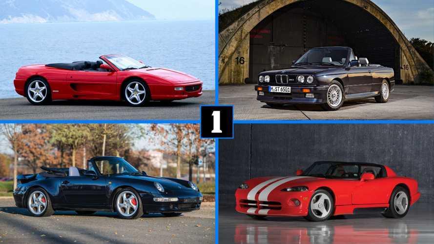 DIAPORAMA - Les plus beaux cabriolets des années 90