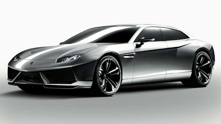 2025 Lamborghini 4-Door Grand Tourer Could Be An Electric Estoque