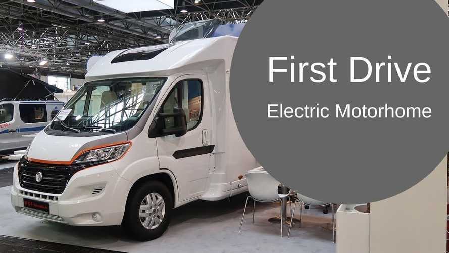 Watch the world's first electric motorhome go for a drive