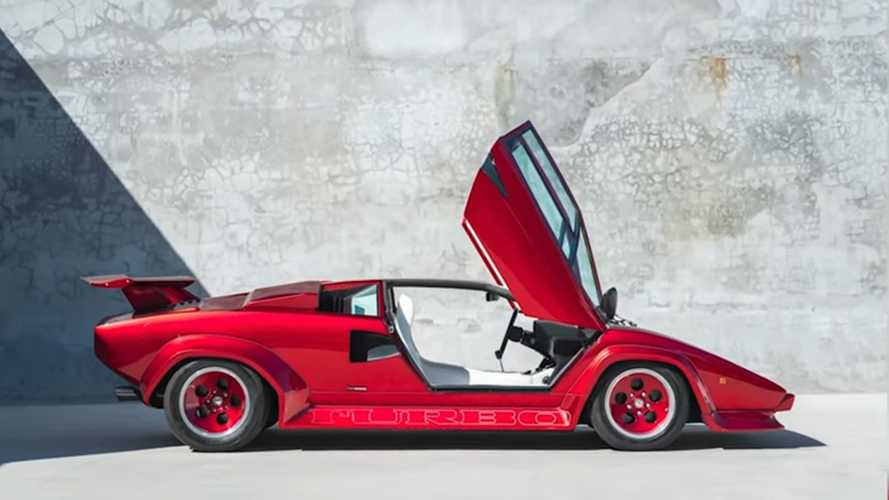 Missing Lamborghini Countach Turbo Tracked Down
