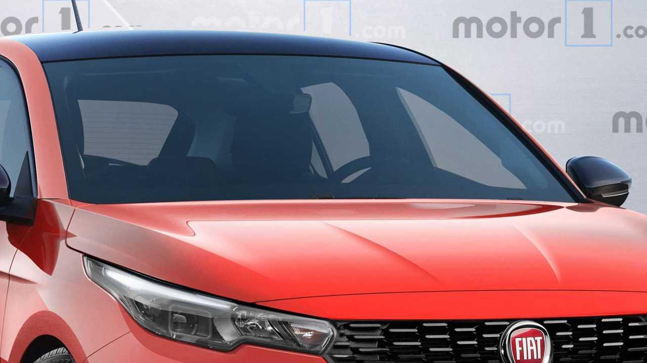 2021 Fiat Punto Spy Shoot