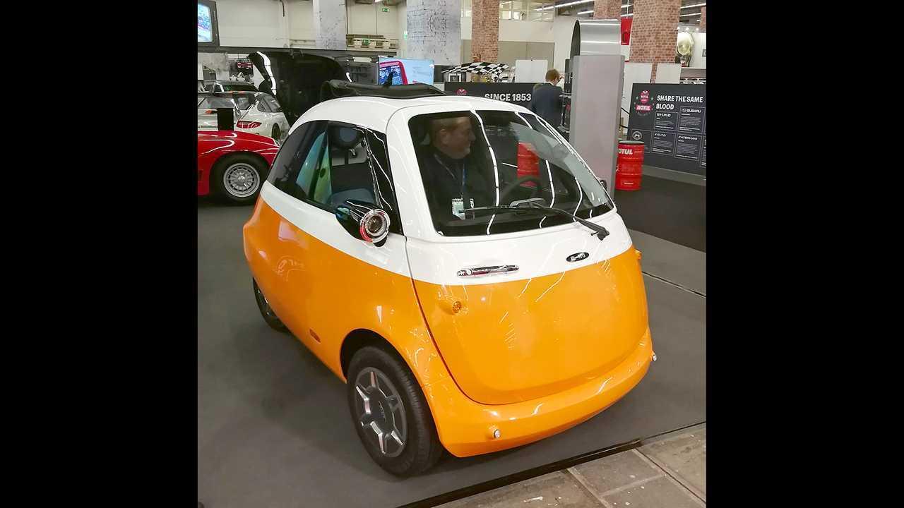 IAA 2019 - Elektroautos: Microlino