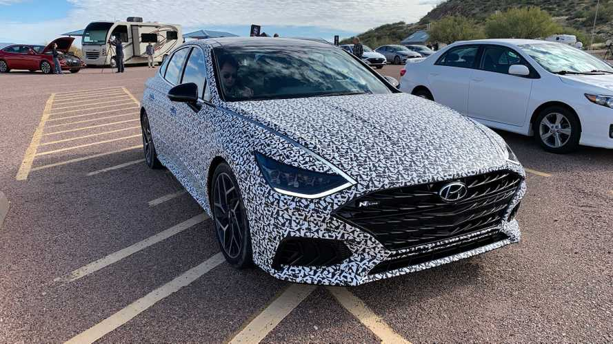 2020 Hyundai Sonata N-Line To Debut Mid-May?