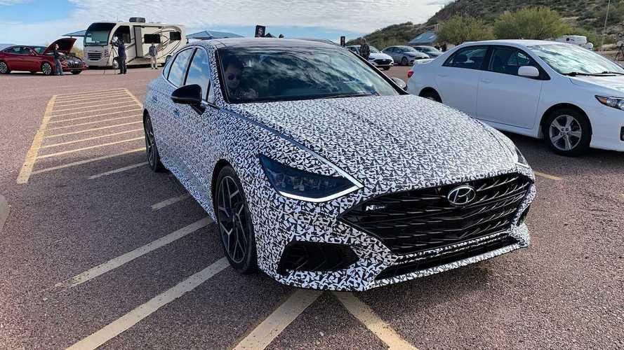 Hyundai может «подогреть» новую Sonata уже к маю
