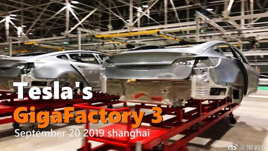 Tesla Gigafactory 3 Construction Progress September 20, 2019: Video