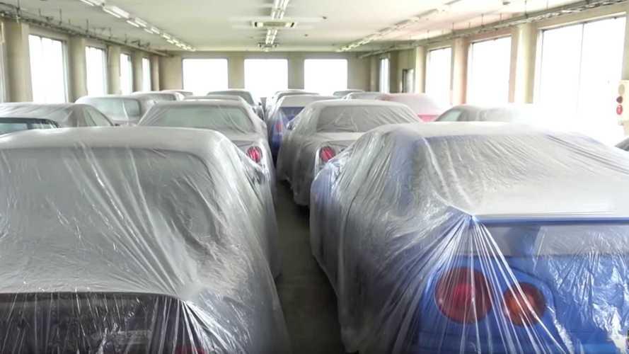 Toutes ces Nissan Skyline sont cachées... et à vendre !