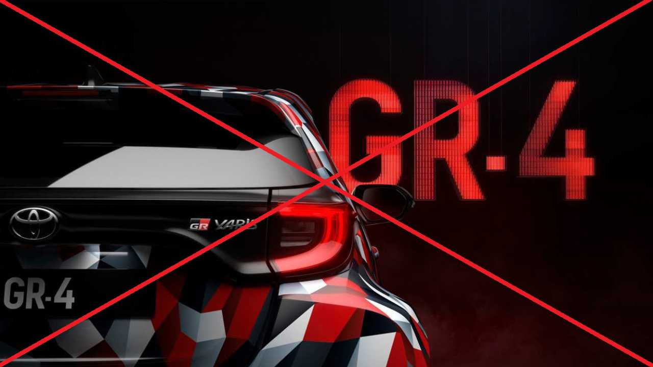 Toyota Yaris GR-4 postponed debut