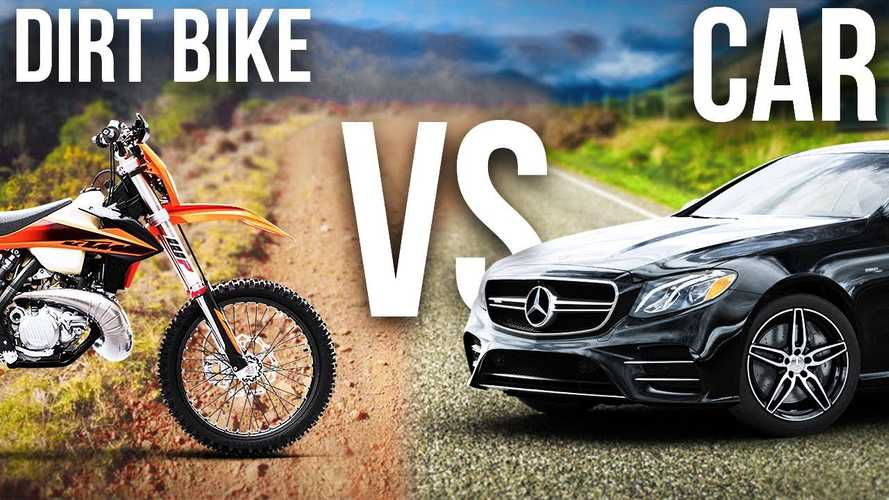 Which Is Faster, A Dirt Bike Or A Mercedes?
