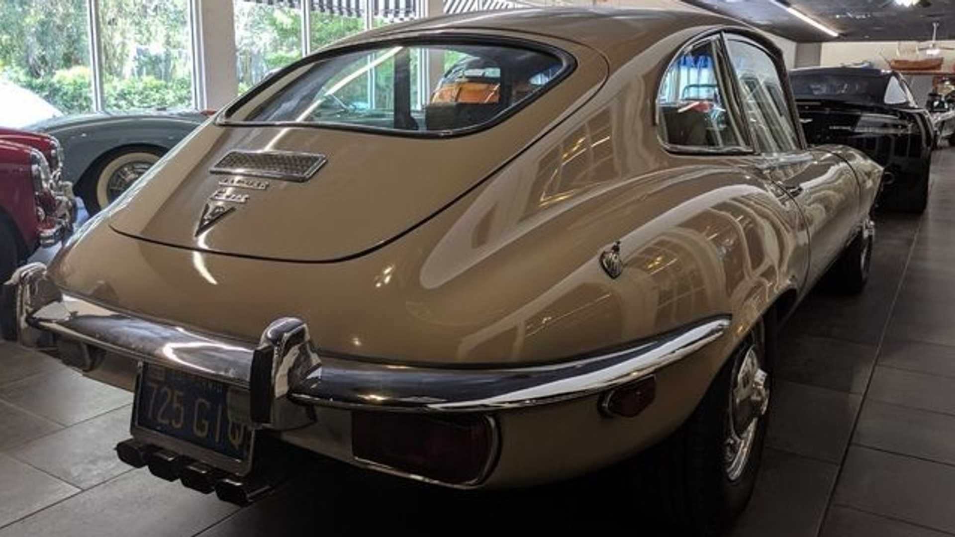 "[""Keep It Classy In This Very Original 1973 Jaguar E-Type""]"
