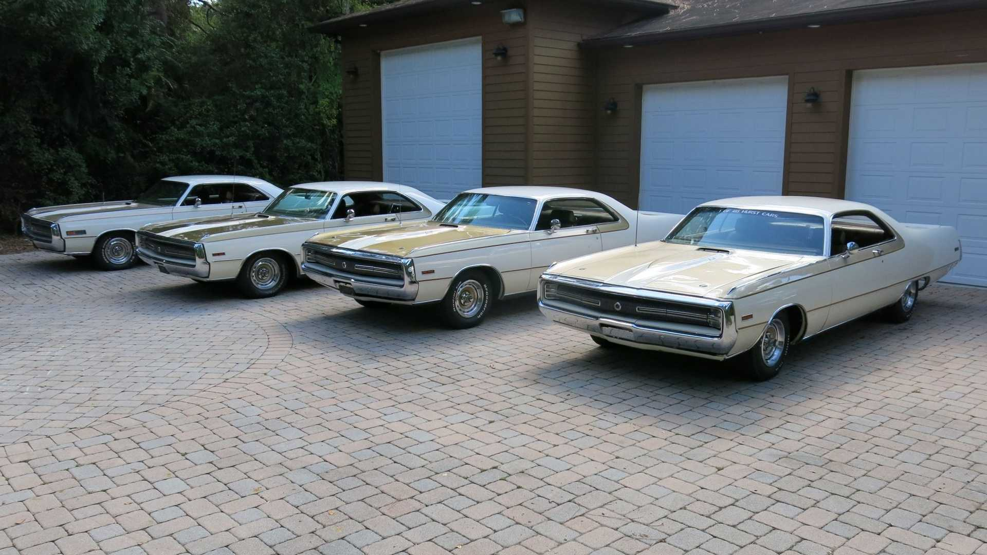"[""Start Your Own Chrysler Collection With Quartet Of 300 Hursts""]"