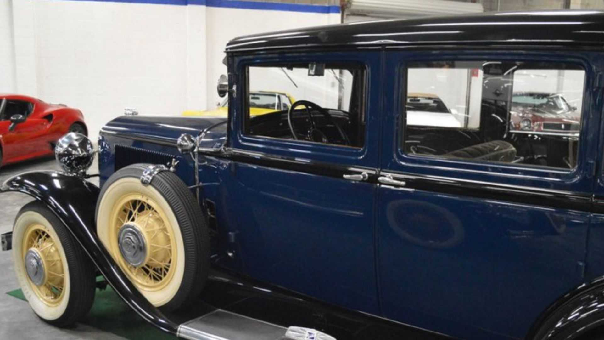 "[""1931 Buick 91 Shows Timeless Elegance""]"