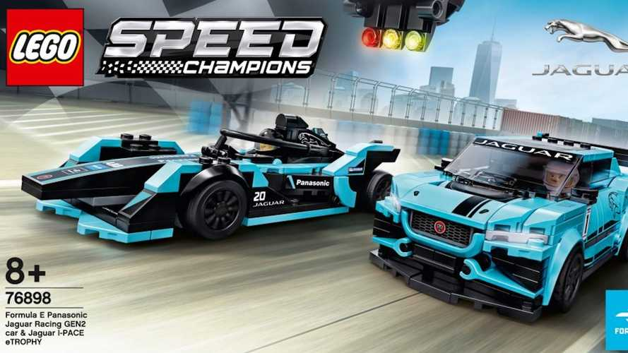 Lego's New Jaguar Set Has First 8-Stud-Wide Cars