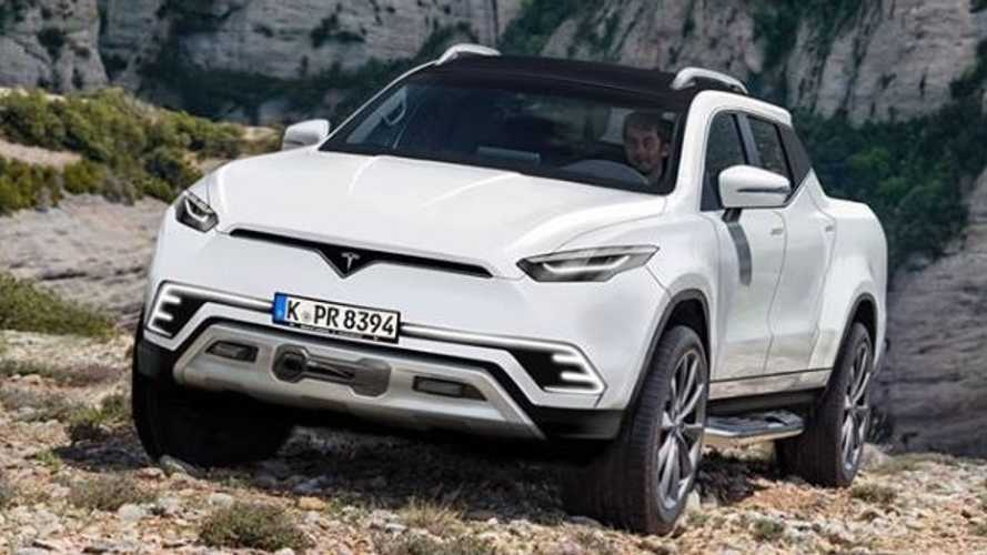 Latest Tesla Pickup Truck Render Reminds Us Of Raised, Rugged Model S