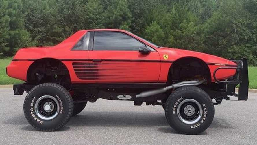 Ferrari Wannabe Lifted Fiero Is Actually A Chevy Blazer