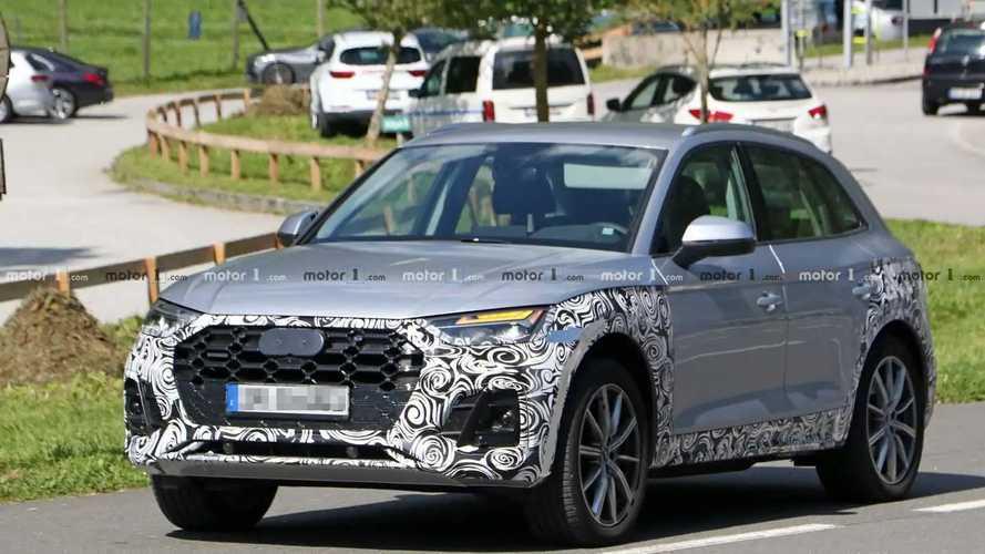 2021 Audi Q5 Facelift Spy Photos