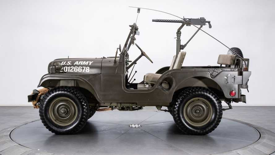 Start Something With A 1953 Willys M38A1 Military Jeep