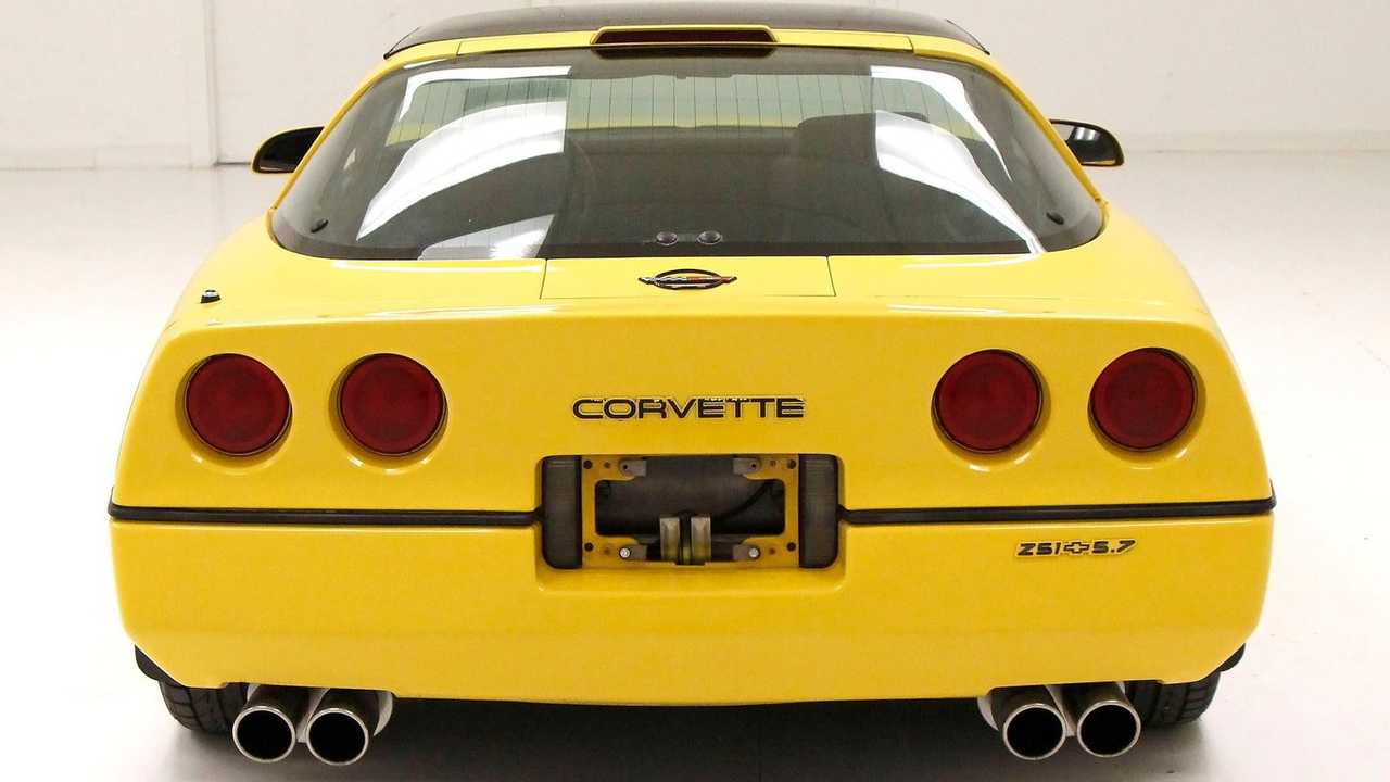 Mellow Out With This Yellow 1986 Chevrolet Corvette