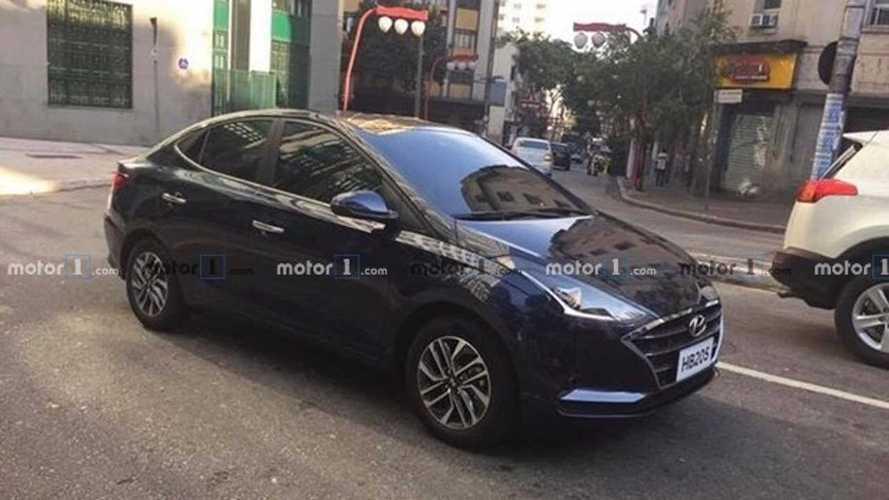 Flagra! Novo Hyundai HB20S 2020 já grava comercial
