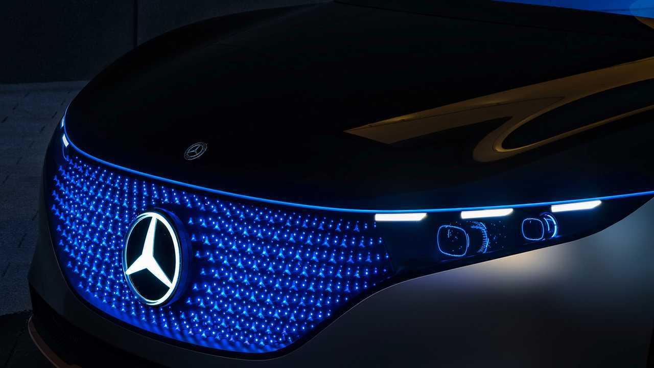 Mercedes-Benz Vision EQS (2019)