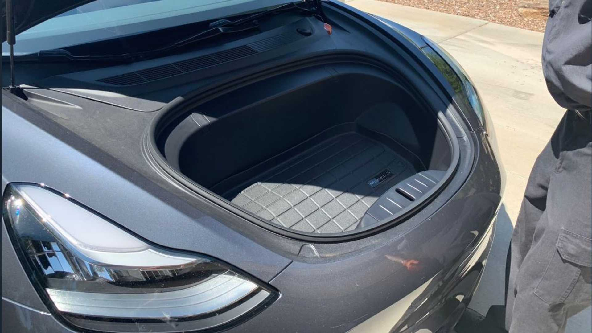 What's Beneath The Frunk Of A Tesla Model 3? on