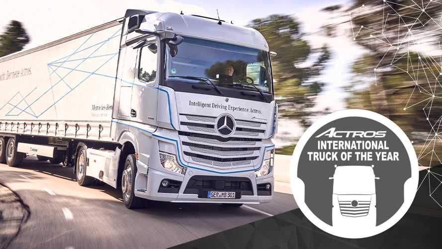 Mercedes-Benz Actros è International Truck of the Year 2020