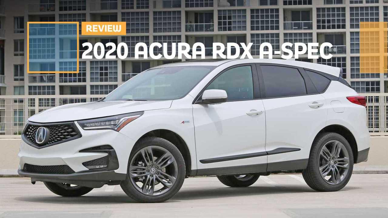 2020 Acura RDX A-Spec Review: The A-Spec Team