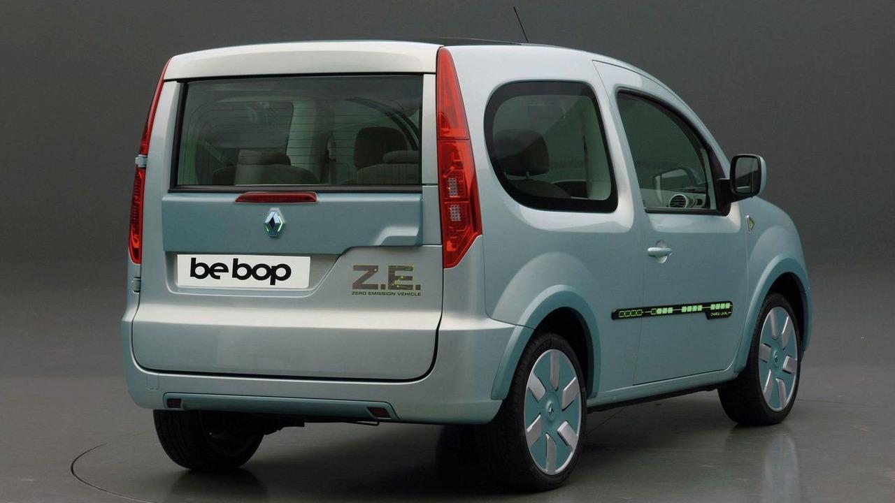 Renault Kangoo Z E  Concept EV Announced for Production in 2011