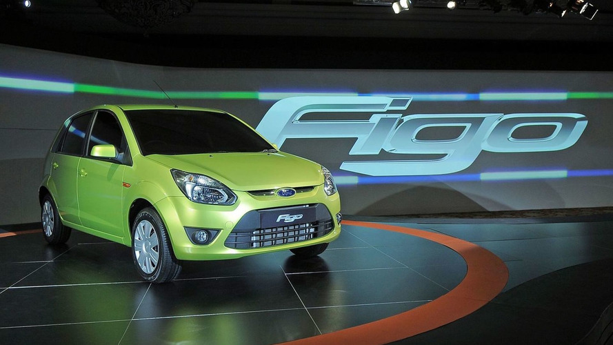 2010 Ford Figo Revealed in India