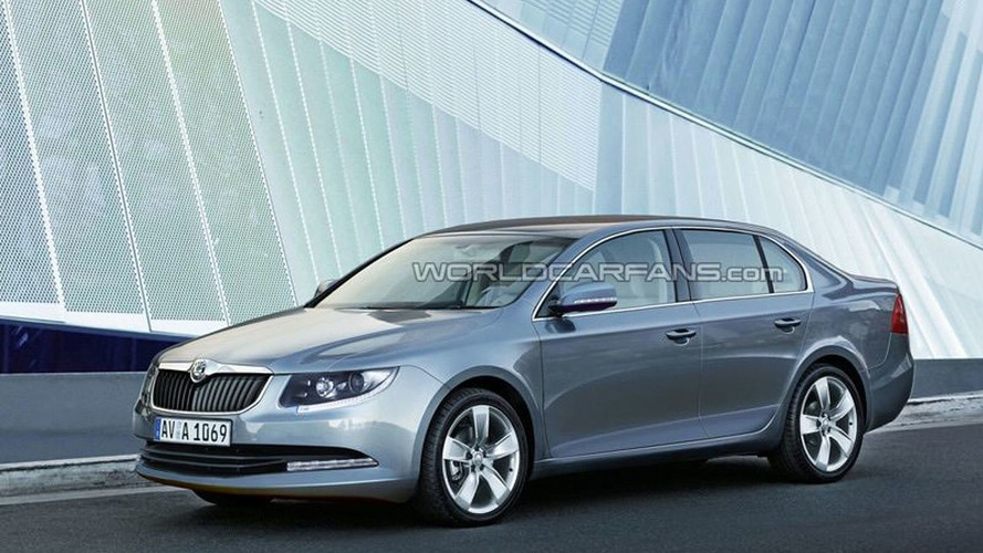 Rendered Speculation: Skoda Octavia III