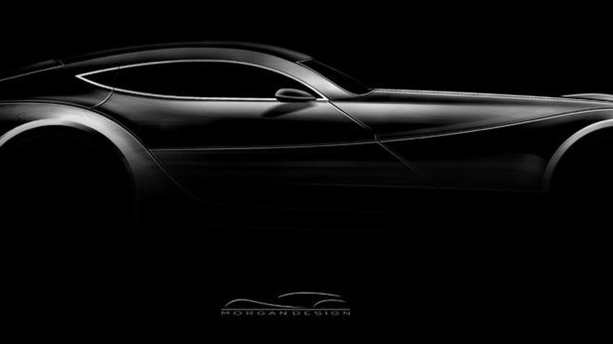 Morgan EvaGT four-seater coupe design sketch teaser, 980, 11.06.2010