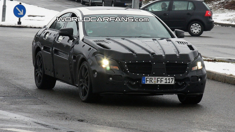 2011 Mercedes CLS Prototype Caught from All Angles