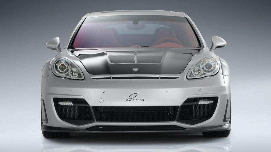 LUMMA CLR 700 GT based on Porsche Panamera Turbo Pre-Geneva Reveal