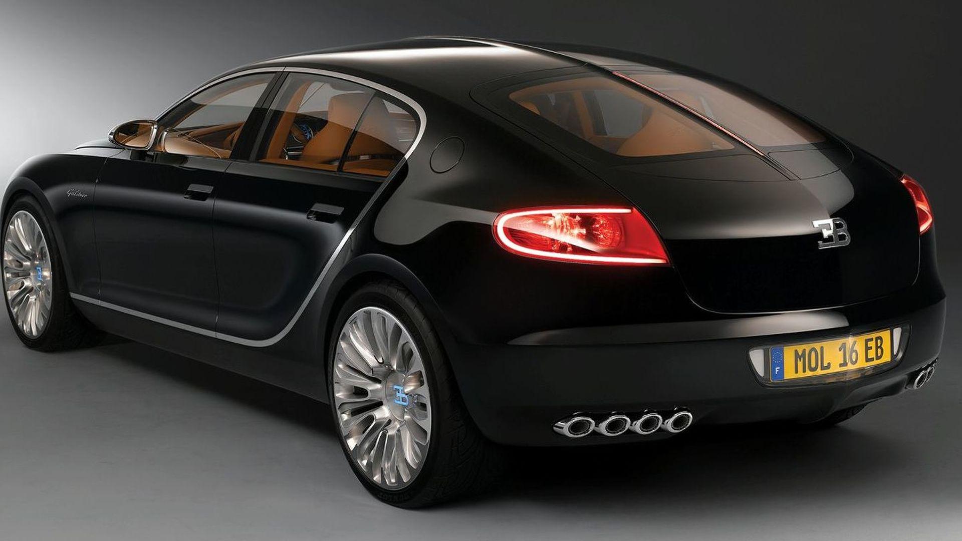 Bugatti To Develop A Luxury Sedan Based On Audi A8 New 16c Galibier